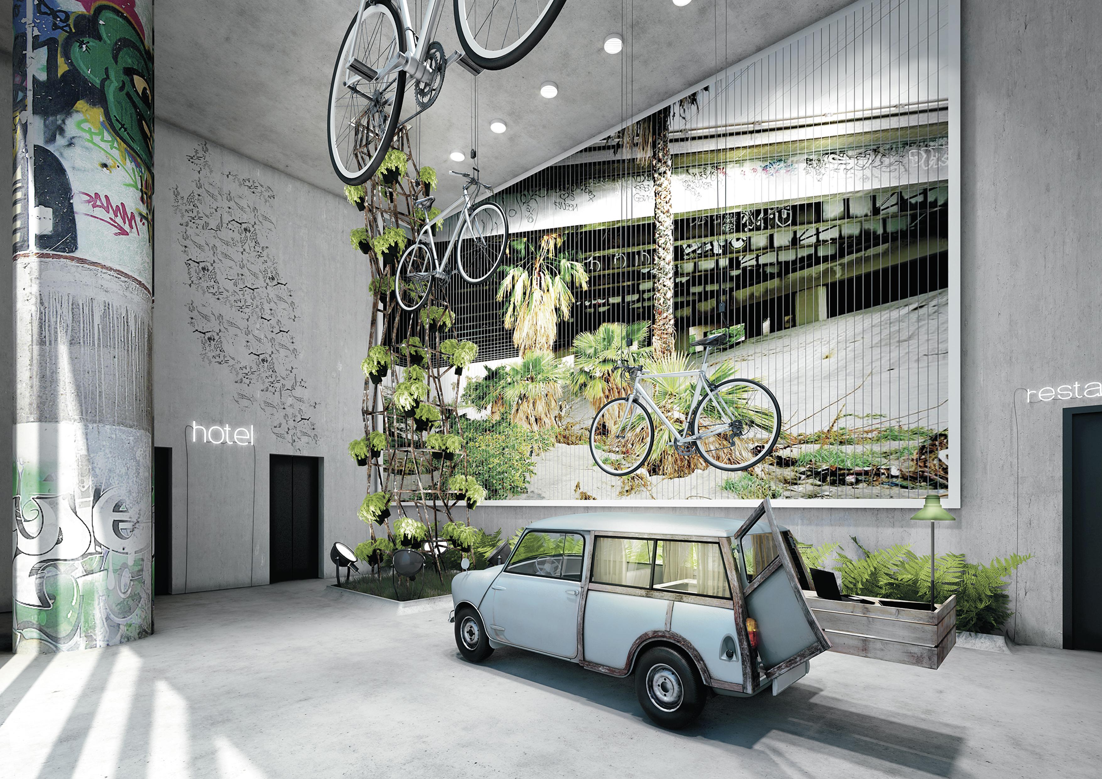 Kaldewei design hotel 25hours bikini berlin voorziet for Design hotel berlin